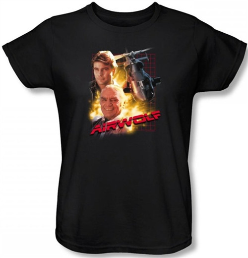 Image for Airwolf Woman's T-Shirt