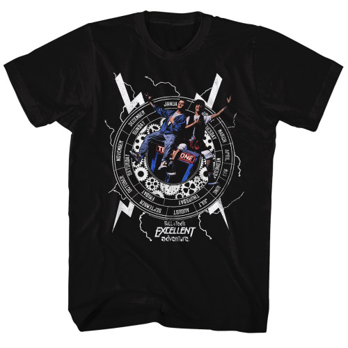 Image for Bill & Ted's Excellent Adventure T-Shirt - Back to Time