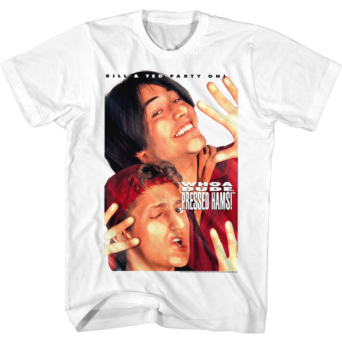Image for Bill & Ted's Excellent Adventure T-Shirt - Pressed Hams