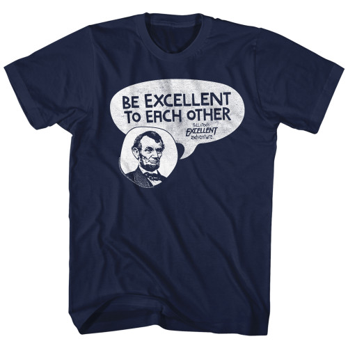 Image for Bill & Ted's Excellent Adventure T-Shirt - Lincoln Says