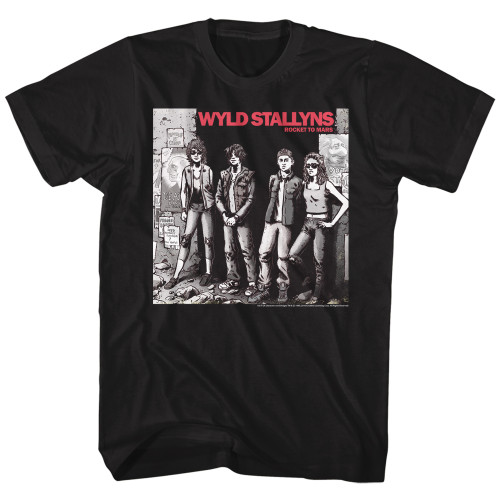 Image for Bill & Ted's Excellent Adventure T-Shirt - Wyld Stallyns Album Cover