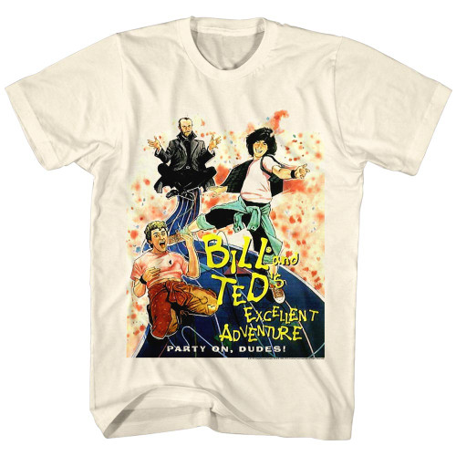 Image for Bill & Ted's Excellent Adventure T-Shirt - DVD Cover