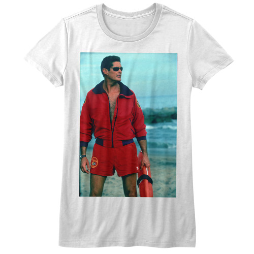 Image for Baywatch On the Beach Girls T-Shirt