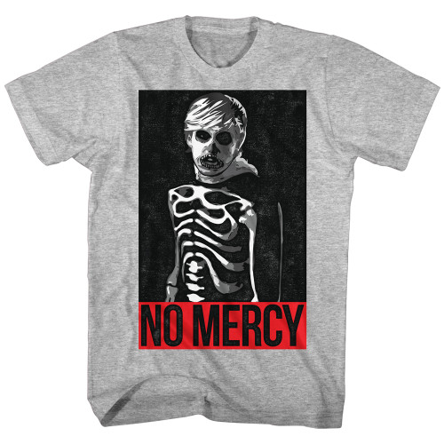 Image for Karate Kid Heather T Shirt - Skeleton No Mercy