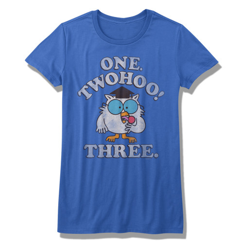 Image for Tootsie Roll Girls T-Shirt - Two-Hoo!
