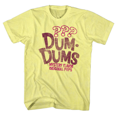 Image for Dum Dums Heather T Shirt - Mystery