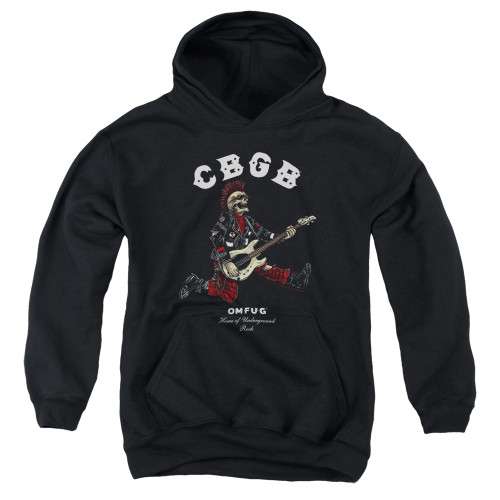 Image for CBGB Youth Hoodie - Skull Jump