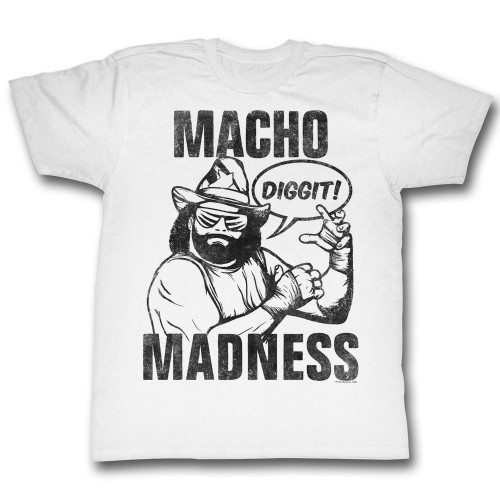 Image for Macho Man T Shirt - Diggit!