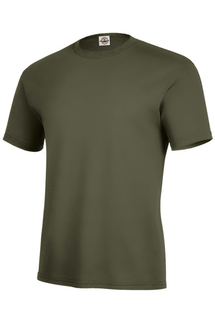 Image for Plain Military green T-Shirt