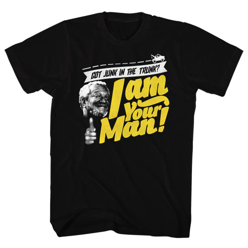 Image for Redd Foxx T-Shirt - Junk in the Trunk