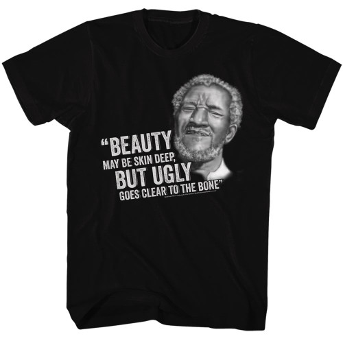 Image for Redd Foxx T-Shirt - Beauty but Ugly