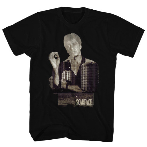 Image for Scarface T-Shirt - Double Expose