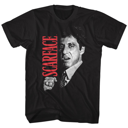 Image for Scarface T-Shirt - Tony Closeup