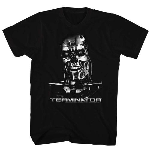 Image for Terminator T-Shirt - Chrome