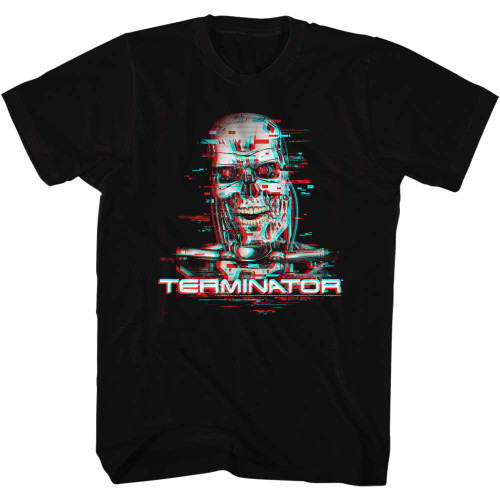 Image for Terminator T-Shirt - Glitch