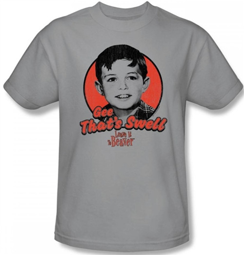 Image Closeup for Leave it to Beaver Gee That's Swell T-Shirt