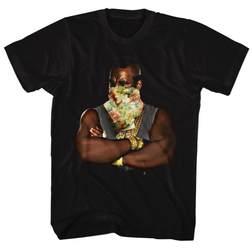 Image for Mr. T T-Shirt - Flowers
