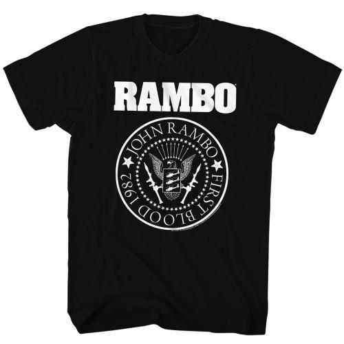 Image for Rambo T-Shirt - Rambones