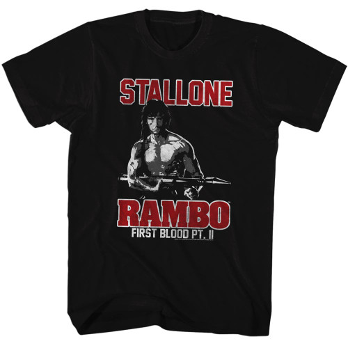 Image for Rambo T-Shirt - First Blood Pt. II