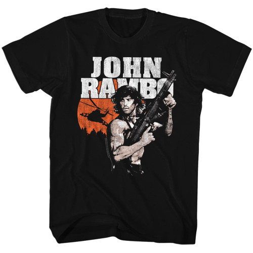 Image for Rambo T-Shirt - Gunship