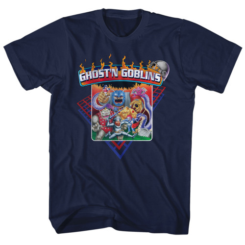 Image for Ghost 'n Goblins Grid T-Shirt