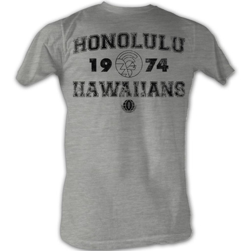 Image for World Football League Heather T-Shirt - Honalulu Hawaiians