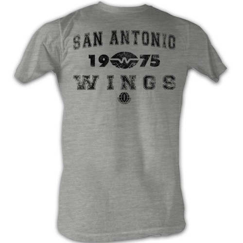 Image for World Football League Heather T-Shirt - San Antonio Wings