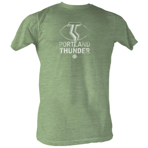 Image for World Football League Heather T-Shirt - Thunder