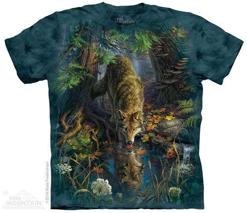 Image for The Mountain T-Shirt - Enchanted Wolf Pool
