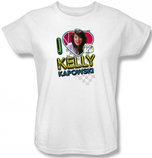Saved by the Bell I Love Kelly Kapowski Woman's T-Shirt