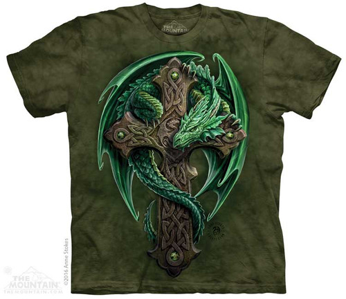 Image for The Mountain T-Shirt - Woodland Guardian