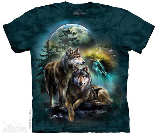 Image for The Mountain T-Shirt - Wolf Lookout