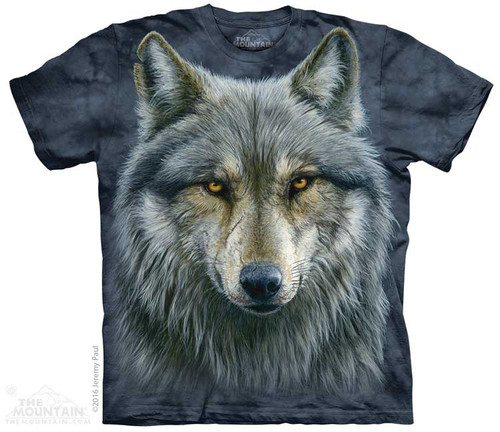 Image for The Mountain T-Shirt - Warrior Wolf