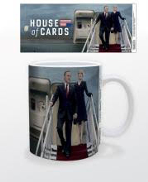 Image for House of Cards Air Force One Coffee Mug