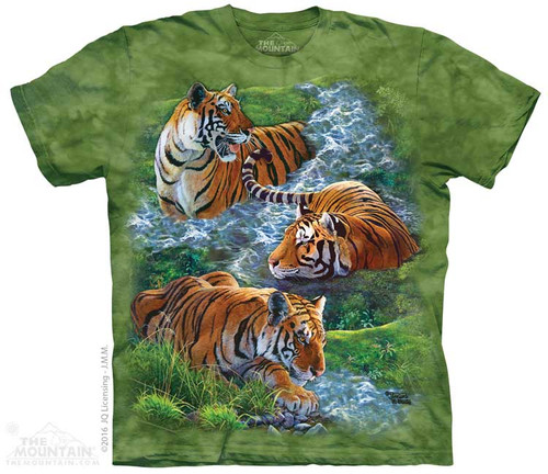Image for The Mountain Youth T-Shirt - Water Tiger