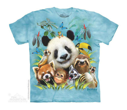 Image for The Mountain Youth T-Shirt - Zoo Selfie