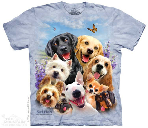 Image for The Mountain Youth T-Shirt - Dog Selfie