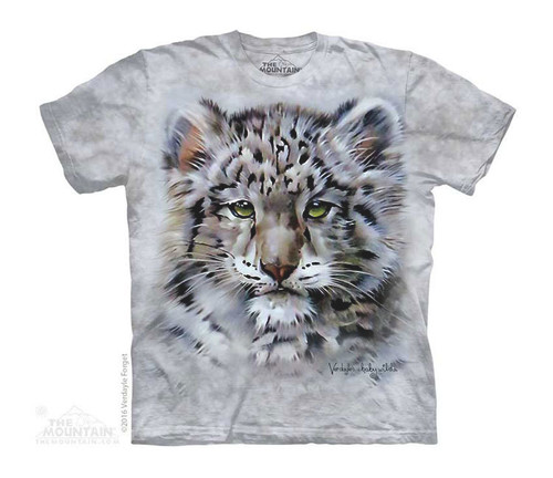 Image for The Mountain Youth T-Shirt - Baby Snow Leopard