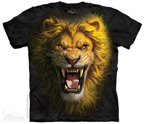 Image for The Mountain Youth T-Shirt - Asian Lion