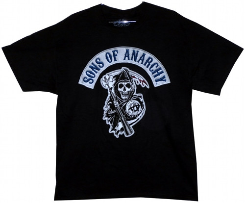 Image Closeup for Sons of Anarchy T-Shirt - Logo Patch