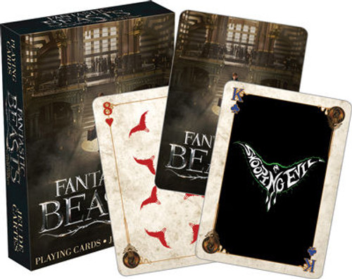 Image for Fantastic Beasts and Where to Find Them Playing Cards