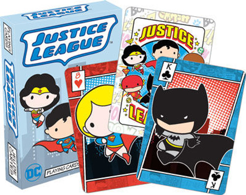 Image for Justice League of America Chibi Playing Cards