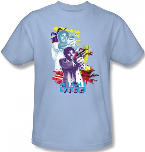 Image Closeup for Miami Vice Freeze T-Shirt