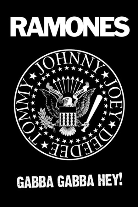 Image for The Ramones Poster - Logo