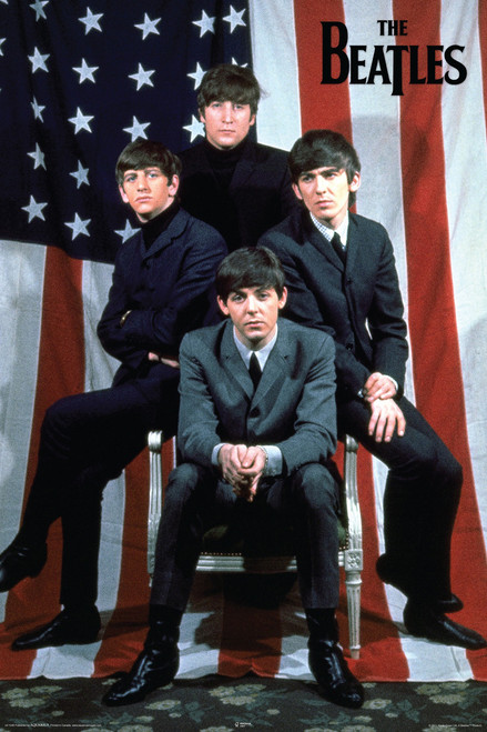 Image for The Beatles Poster - Flag