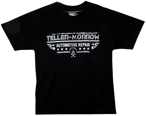 Image Closeup for Sons of Anarchy Teller Morrow Repair T-Shirt