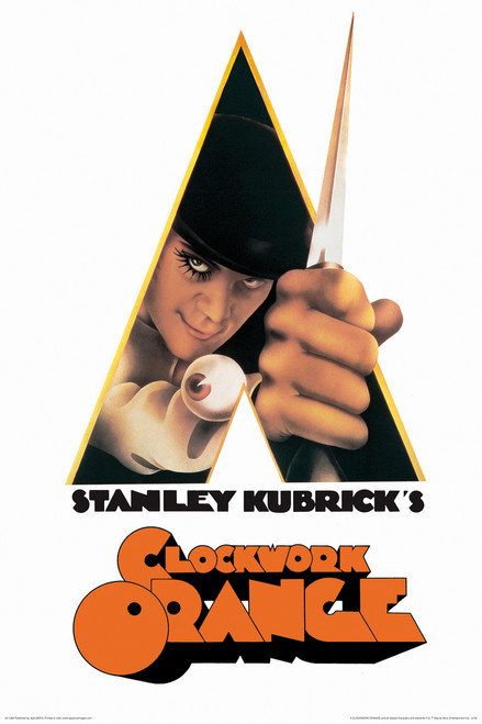 Image for A Clockwork Orange Knife Poster