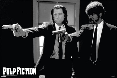Image for Pulp Fiction Poster - Duo Guns