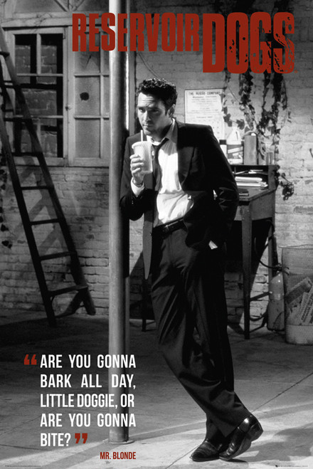 Image for Reservoir Dogs Poster - Mr. Blonde
