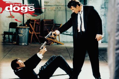Image for Reservoir Dogs Poster - Mr. Pink & Mr. White